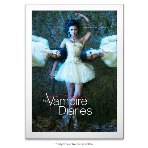 Poster The Vampire Diaries na internet