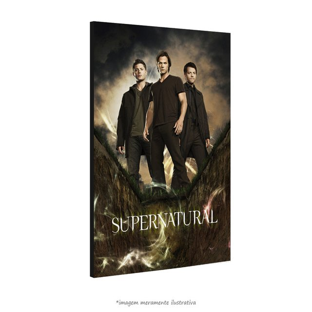Poster Supernatural na internet