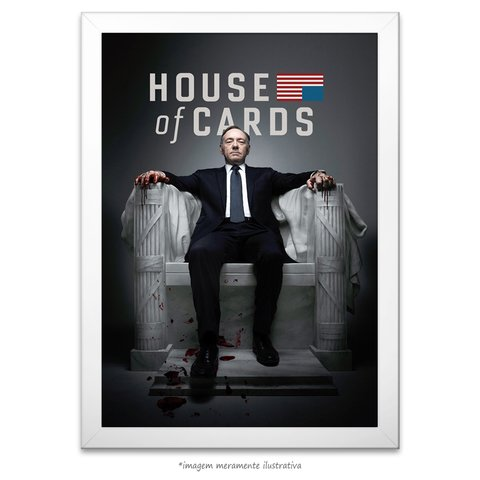 Poster House of Cards - comprar online