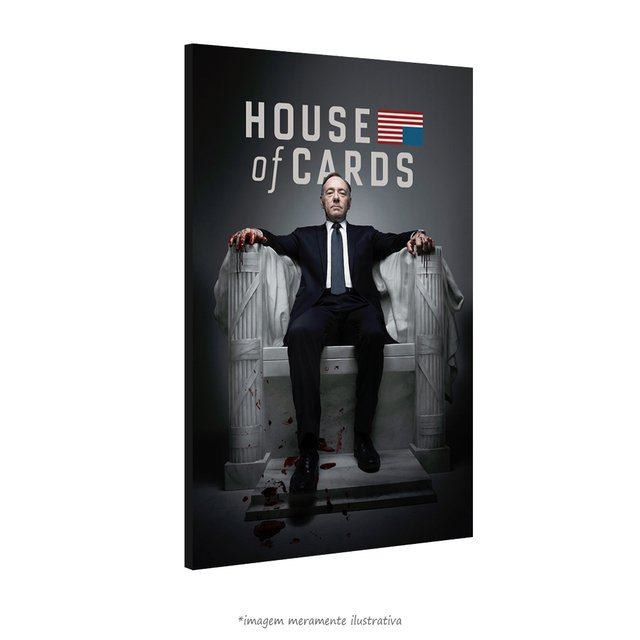 Poster House of Cards na internet