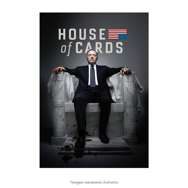 Poster House of Cards - QueroPosters.com