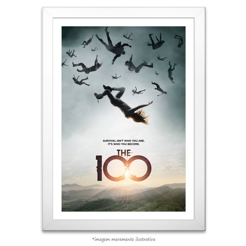 Poster The 100 - comprar online