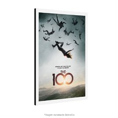 Poster The 100 na internet