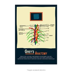Poster Grey's Anatomy - Tumor e Post-it - QueroPosters.com