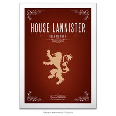 Poster Game Of Thrones: House Lannister - comprar online