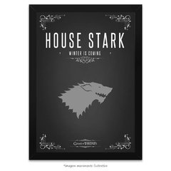 Poster Game Of Thrones: House Stark