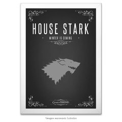 Poster Game Of Thrones: House Stark - comprar online