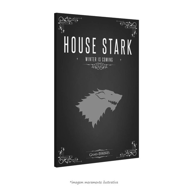 Poster Game Of Thrones: House Stark na internet