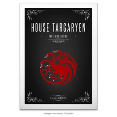 Poster Game Of Thrones: House Targaryen - comprar online