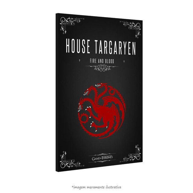 Poster Game Of Thrones: House Targaryen - QueroPosters.com