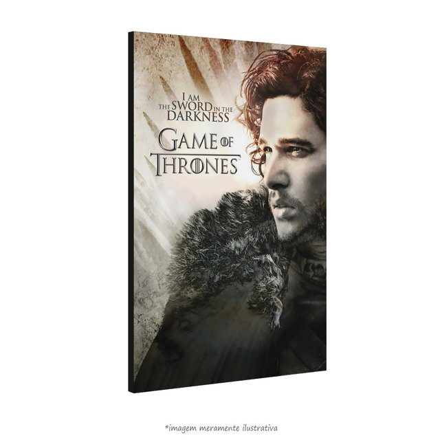 Poster Game Of Thrones: Jon Snow na internet