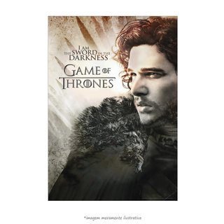 Poster Game Of Thrones: Jon Snow - QueroPosters.com