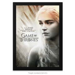 Poster Game Of Thrones: Daenerys Targaryen