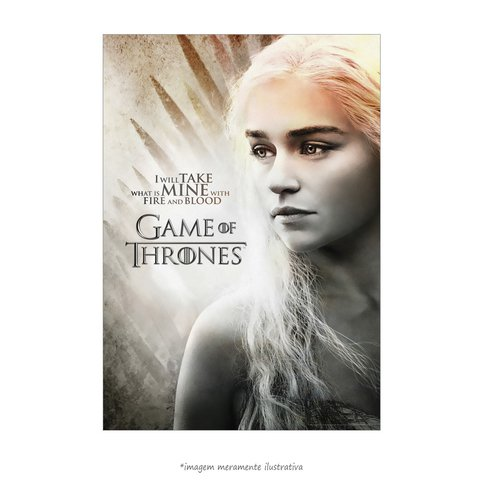 Poster Game Of Thrones: Daenerys Targaryen - QueroPosters.com