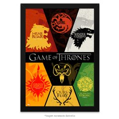 Poster Game Of Thrones: Houses