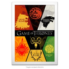 Poster Game Of Thrones: Houses - comprar online