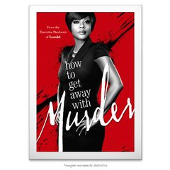 Poster How To Get Away With Murder - comprar online