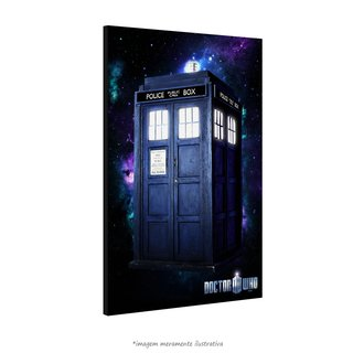 Poster Doctor Who: Tardis na internet