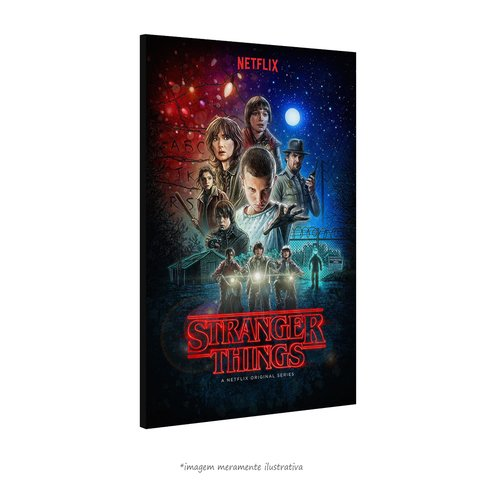 Poster Stranger Things na internet