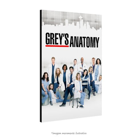 Poster Grey's Anatomy na internet