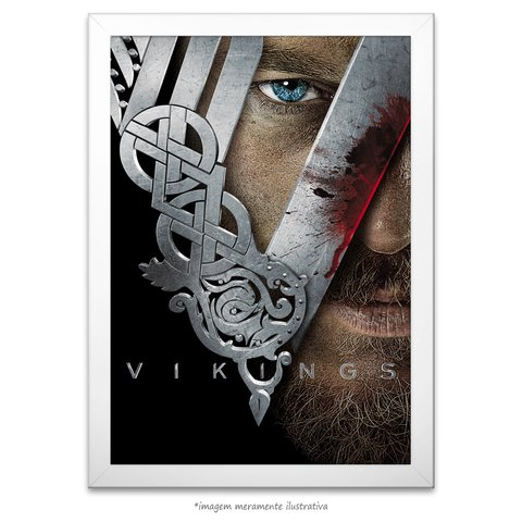 Poster Vikings na internet