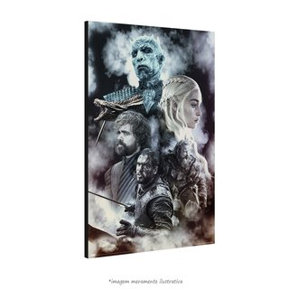 Poster Game of Thrones na internet