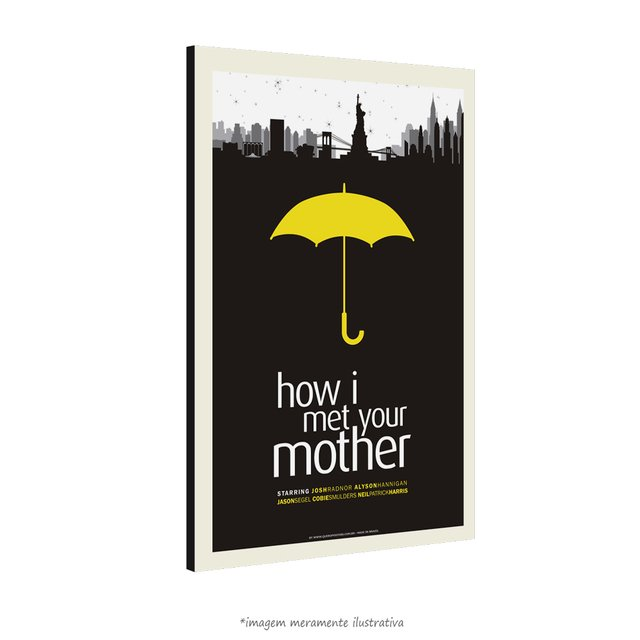 Poster How I Met Your Mother na internet