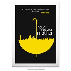 Poster Yellow Umbrella - How I Met Your Mother - comprar online