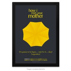 Poster Yellow Umbrella - How I Met Your Mother