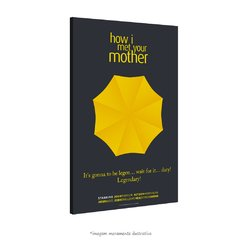Poster Yellow Umbrella - How I Met Your Mother na internet