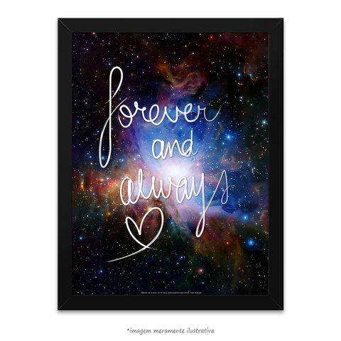 Poster Forever And Always - comprar online