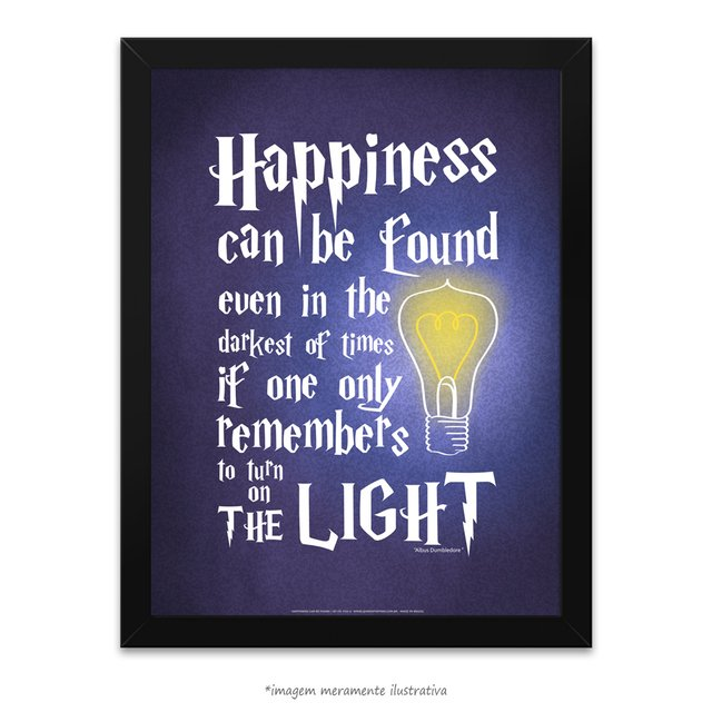 Poster Happiness Can Be Found - Harry Potter e o Prisioneiro de Azkaban - comprar online