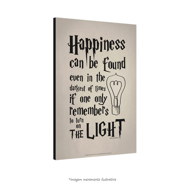 Poster Happiness Can Be Found - Harry Potter e o Prisioneiro de Azkaban - QueroPosters.com