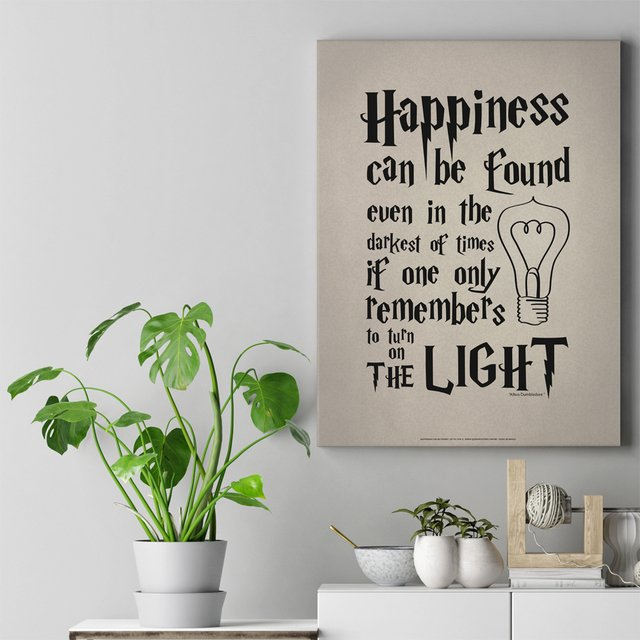 Poster Happiness Can Be Found - Harry Potter e o Prisioneiro de Azkaban