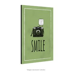 Poster Smile - Verde - QueroPosters.com