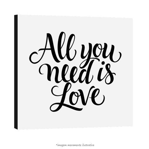 Poster All you need is love - The Beatles na internet