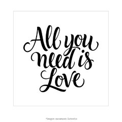 Poster All you need is love - The Beatles - loja online
