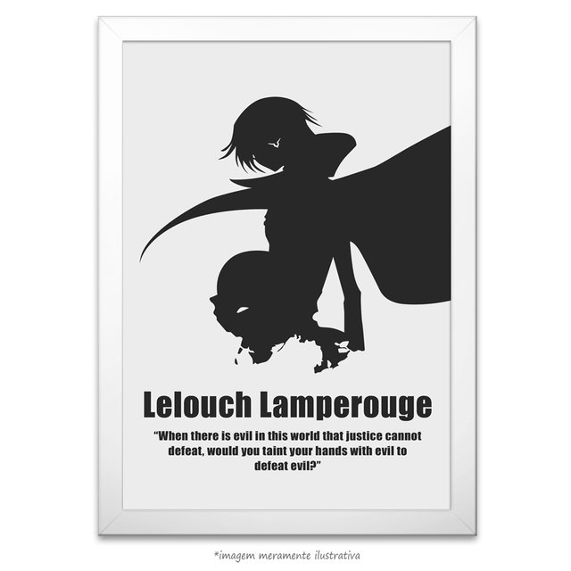 Poster Lelouch Lamperouge - Sunrise, Code Geass - Lelouch of the Rebellion - comprar online