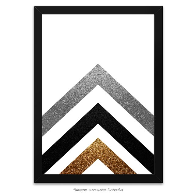 Poster Gold Printable Geometric Art