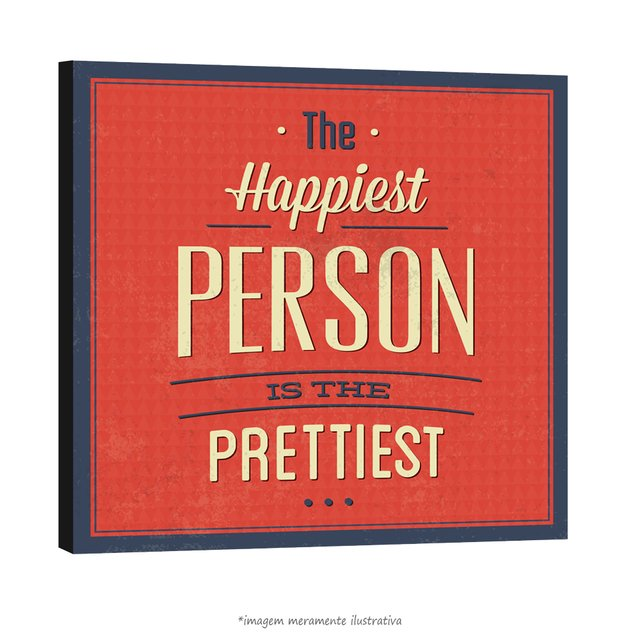 Poster The Happiest Person is The Pretties na internet