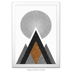 Poster Gold Printable Geometric Art - II na internet