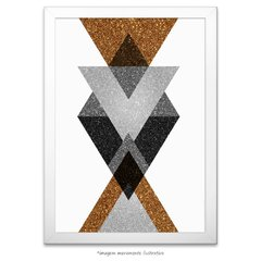 Poster Gold Printable Geometric Art - III na internet