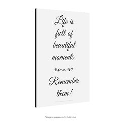 Poster Life is Full of Beautiful Moments - QueroPosters.com
