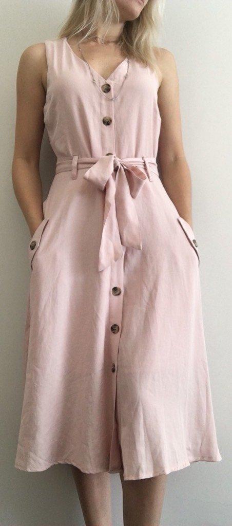 a227a1618 Vestido Midi Linho - Comprar em Menta Flor Store