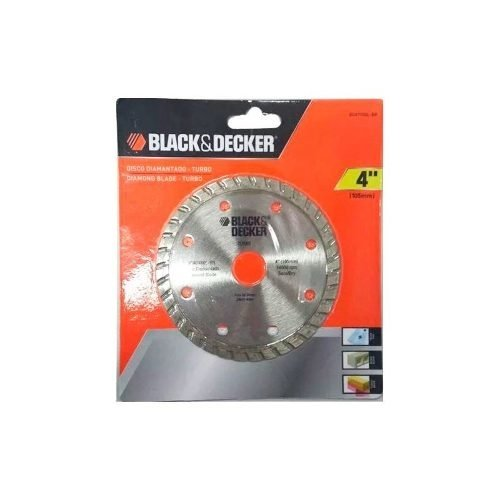 Disco Diamantado Turbo 4 Bd47400l Br Black&decker