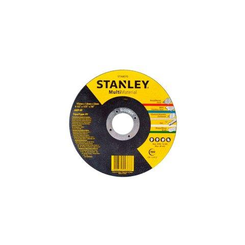 Disco Abrasivo Corte Multi Material 4 1/2 x 1,0 x 7/8 STA8070 Stanley