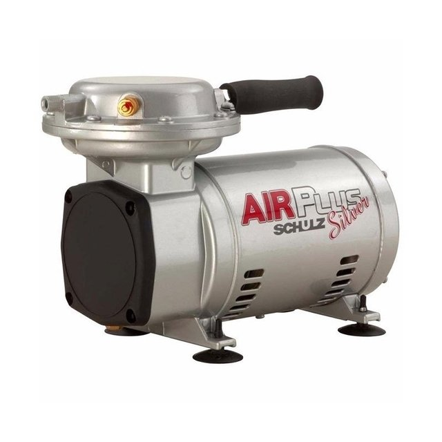 Compressor de Ar Bivolt 2,3 com Kit Air Plus Silver Schulz