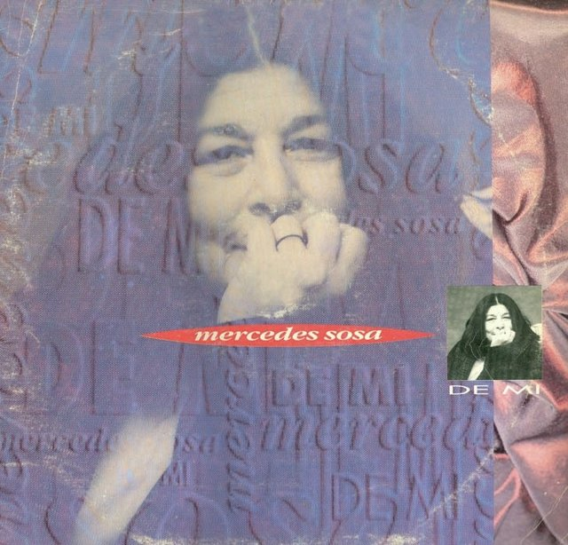 CD - Mercedes Sosa - De mí