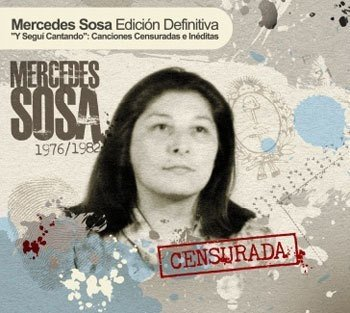 CD - Mercedes Sosa - Censurada
