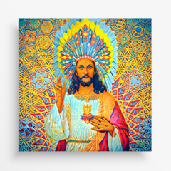 Imagem do Azulejo Decorativo - Jesus Cocar